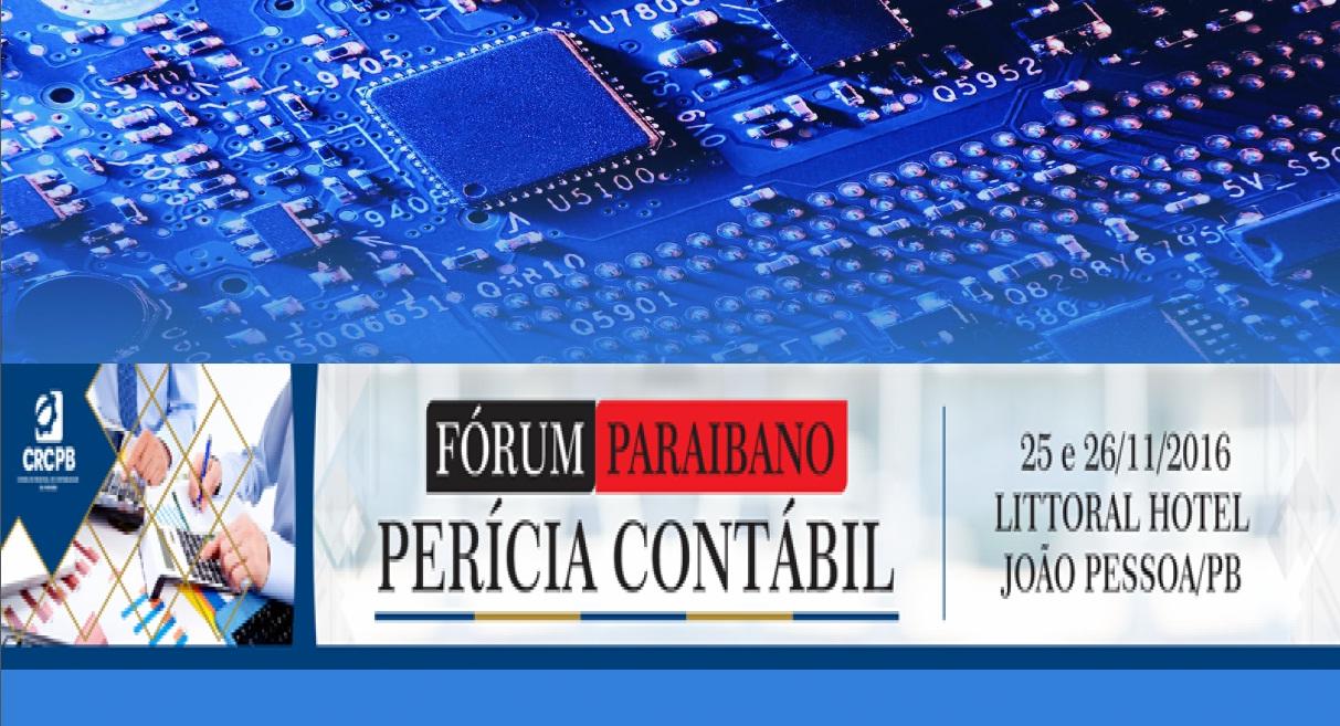 Material: FÓRUM PARAIBANO – PERÍCIA CONTÁBIL – 25 e 26/11